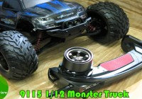 9115 (GP S911) Дешевый Monster Truck 2WD, 1:12. Unboxing, Banggood