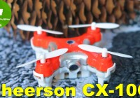 ✔ Cheerson CX-10C World Smallest Camera Quadcopter! Review. Banggood
