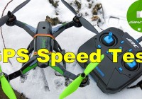 Квадрокоптер JJRC X1 — Максималка! GPS Speed Test! Banggood