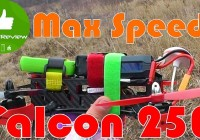 Eachine Falcon 250 — Максималка, Краши, видео с камеры! Banggood