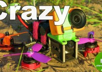 Самый быстрый FPV квадрокоптер RC 180 V2 \ EMAX RS2205 2600kv! Surveilzone