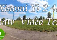 Yi Action Camera 2 4K Raw Video Test. Part 3