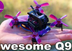 Awesome Q95 — Cool FPV Racer, 2S and 3S Battery Test!