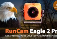 Топовая FPV Камера RunCam Eagle 2 Pro — Global WDR OSD Audio 800TVL!