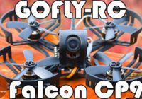 Быстрый FPV квадрокоптер GOFLY-RC Falcon CP90 — Cool Mini FPV Racing Drone!