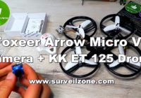 Обзор Foxeer Arrow micro V2 Camera + KINGKONG ET 125 Drone! Surveilzone.com!