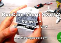 RunCam Micro Swift 2 Camera, Runcam TX25 VTX, Kingkong Fly Egg 130 Test!