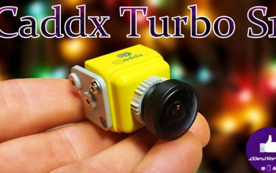 FPV Камера Caddx Turbo S1 CCD 600TVL/2.1mm/OSD/D-WDR! Caddx.us!