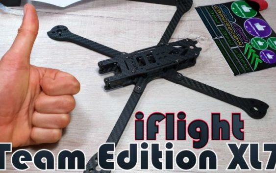 Рама для Квадрокоптера iFlight XL7 Lowrider Long Range Team Edition!