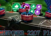 Мощные Моторы RCINPOWER GTS-V2 2207PLUS Pink/Titanium 2-2.6кг Тяги!