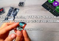 Видеоперердатчик RUSH Tank Racing VTX 5.8G Smart Audio 20/50/200/500mW!