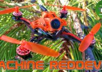 FPV Квадрокоптер — Eachine RedDevil 105mm 2-3S. Зубочистка! Caddx EOS2 + 200mw!