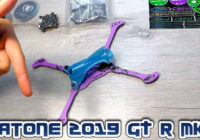 FPV Рама для Квадрокоптера — Diatone 2019 GT R5 Cat Purple!