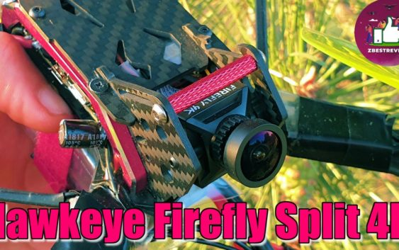FPV HD Камера — Hawkeye Firefly Split 4K HD, 30х30, Мини стандарт!