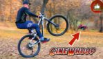 Kozak TV MTB Wheelie Training Gopro CineWhoop Filming