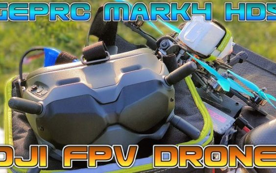 Мой первый FPV Квадрокоптер на системе DJI Digital FPV и раме GepRC Mark4 HD5!