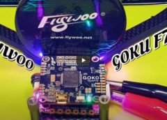 Электроника для FPV Дрона FLYWOO GOKU Stack F722 50A LED! 🔥